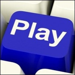 play keyboard button