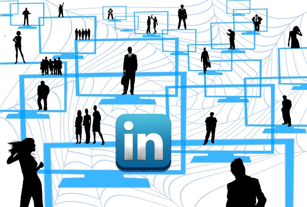 LinkedIn Maze of people