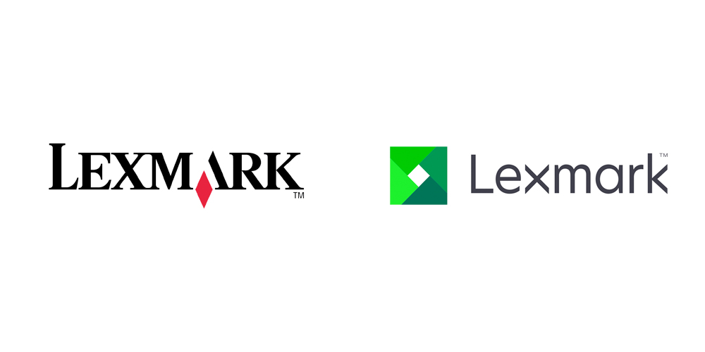 Lexmark old and new logo