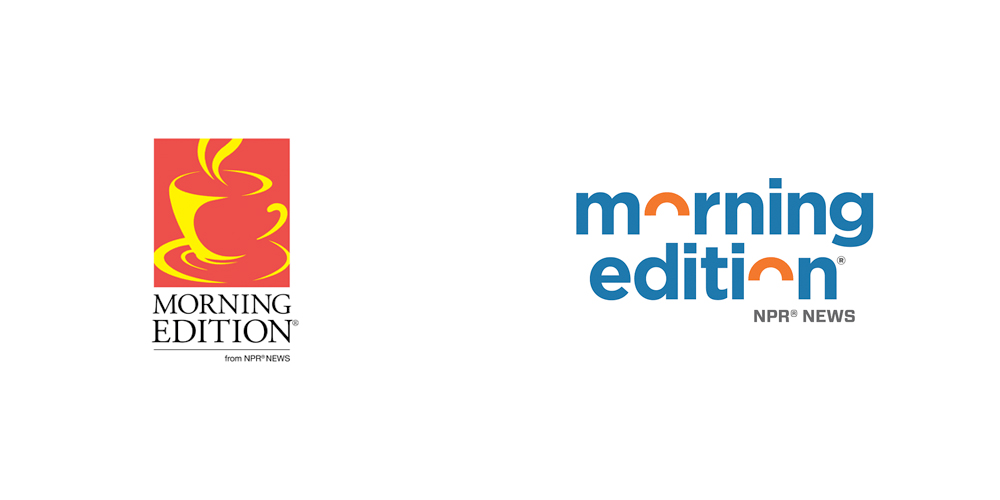 morning edition old and new logo