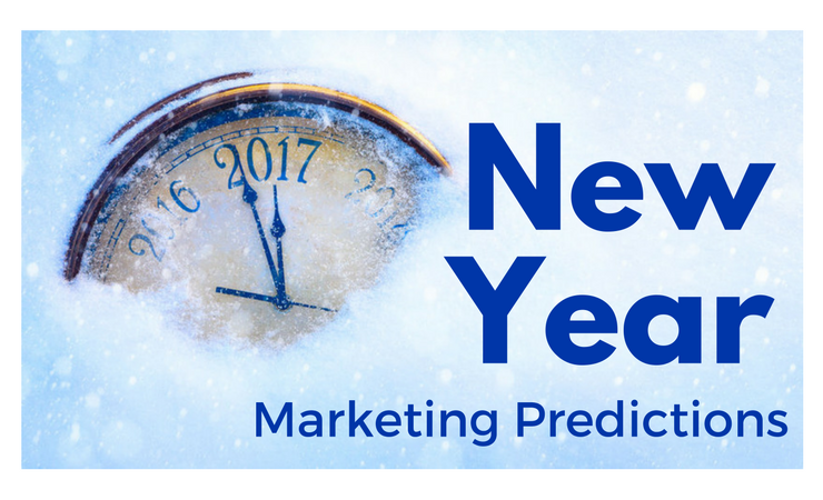 2017 marketing predictions and clock