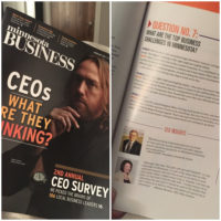 MN Business Magazine: CEOs What are They Thinking?