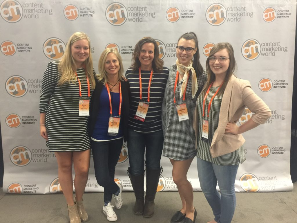Allee Creative team at Content Marketing World